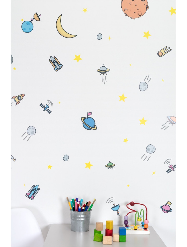 OUTER SPACE STICKER