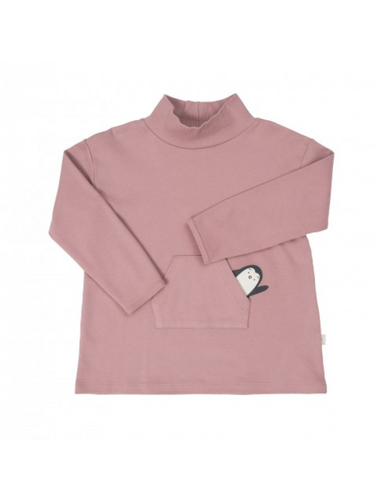 COMBO DRESS PINK/ INTERLOCK VELVET JERSEY