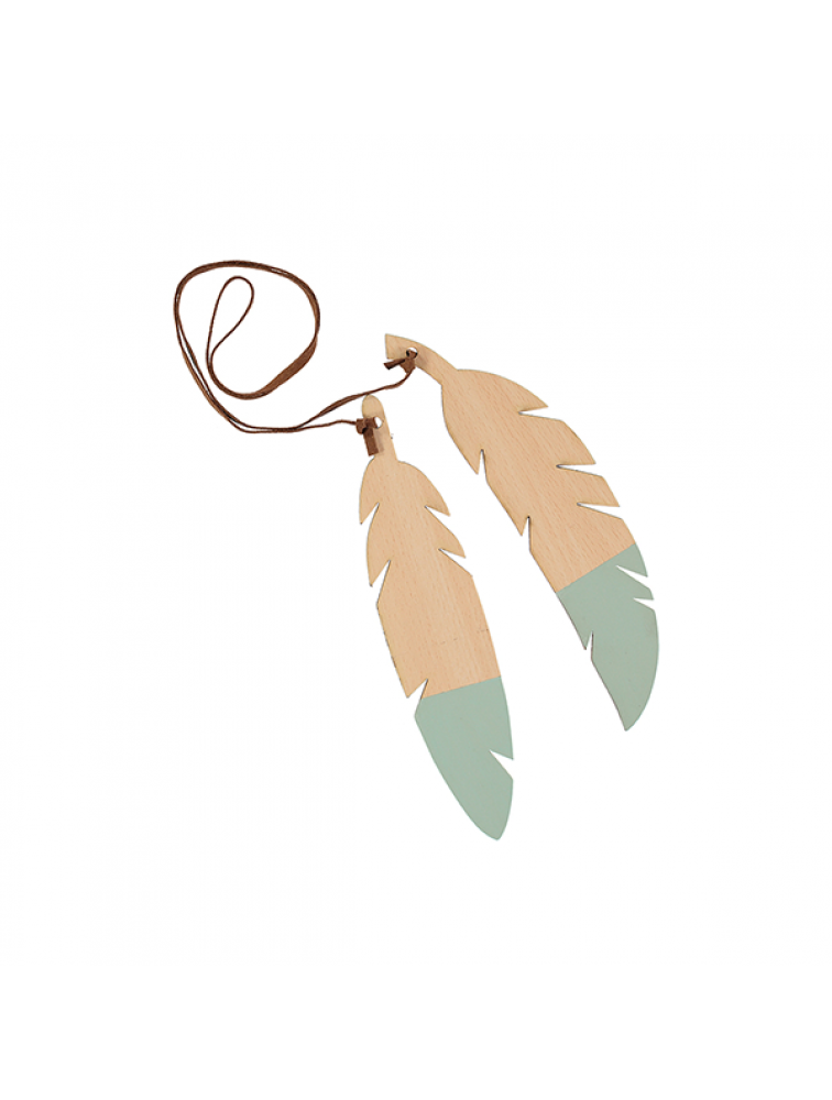 FEATHERS DUO- green