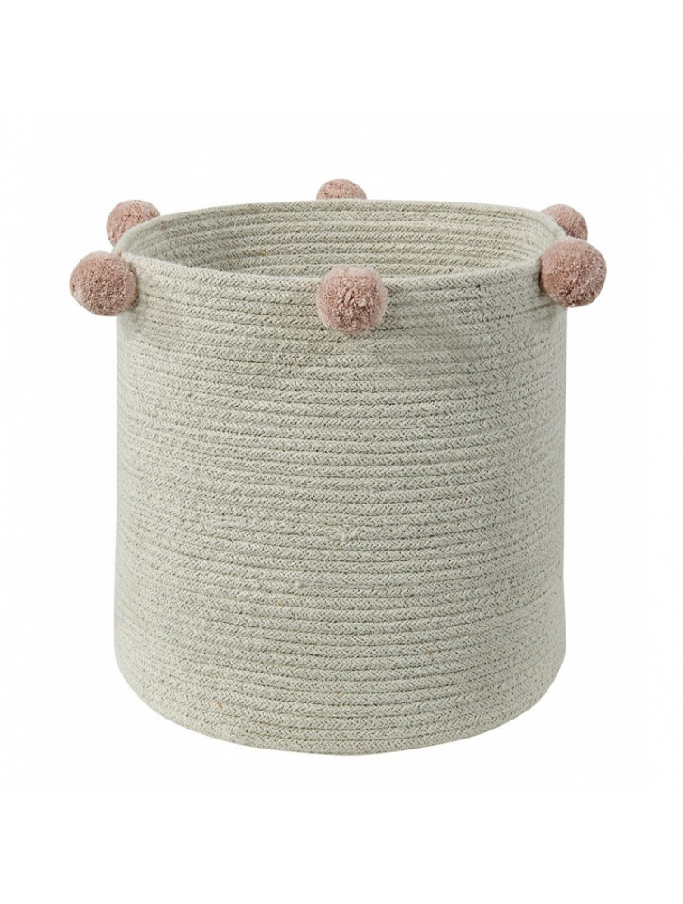 BASKET BUBLY NATURAL NUDE