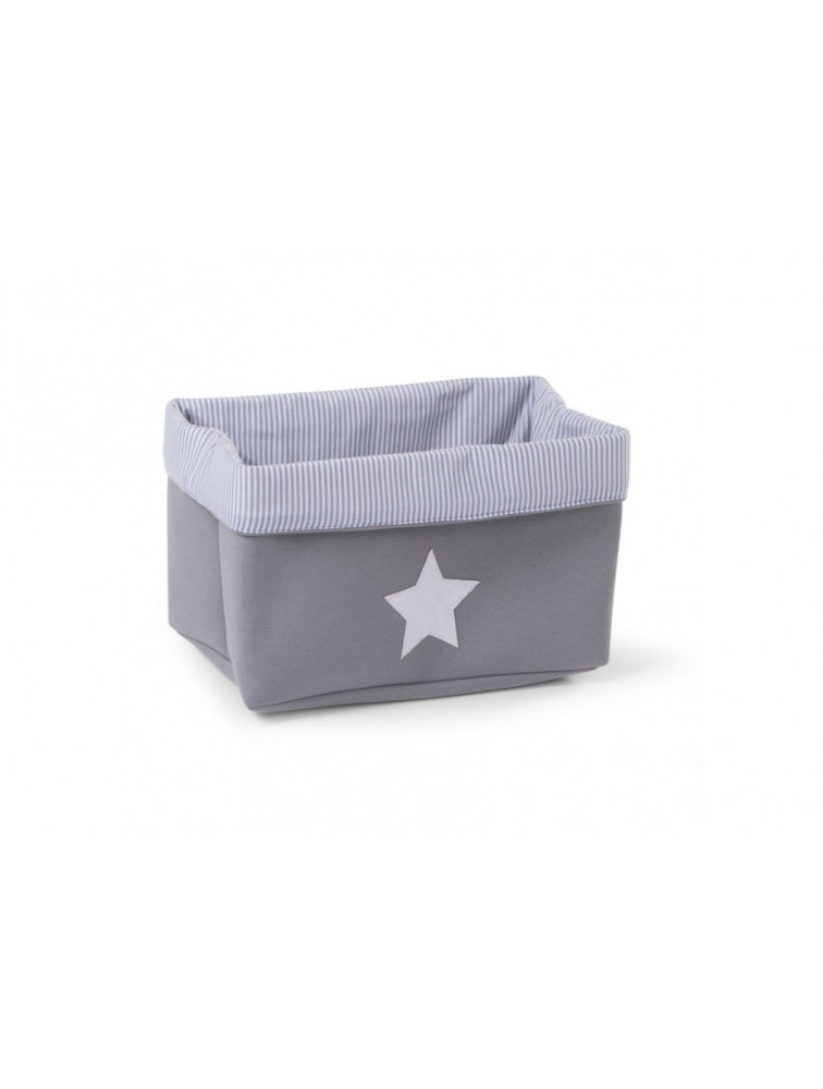 CANVAS BOX FOLDABLE 32X20X20 GREY