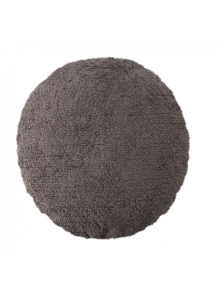 CUSHION BIG DOT DARK GREY