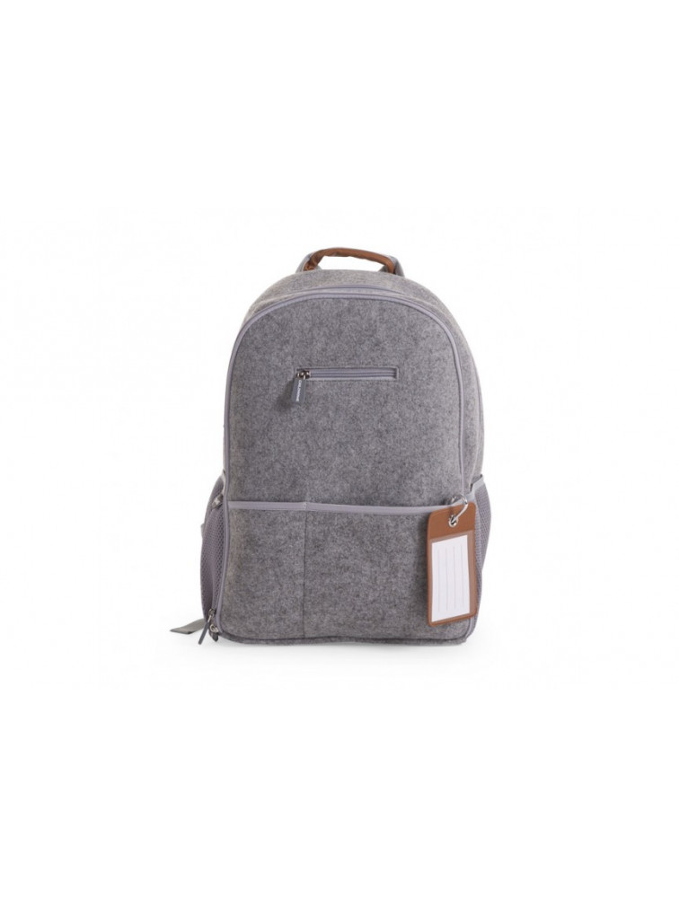 FELT NURSERY BACK PACK GREY 45X34X20